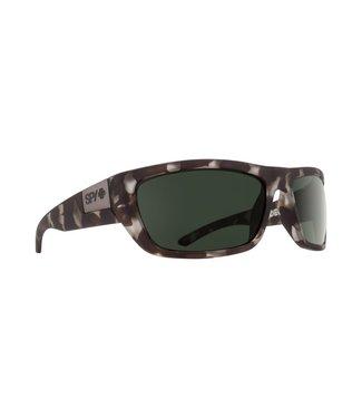 7402c8421dd8 Spy Optics Dega Soft Matte Smoke Tortoise Happy Grey Green Lens