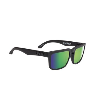 Spy Optics Helm Soft Matte Black Happy Green Spectra Polarized