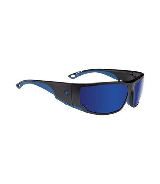 Spy Optics Tackle Matte Black Navy Happy Bronze Blue Spectra Polarized