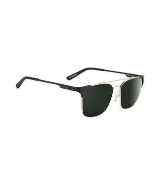 Spy Optics Wingate Gold Gloss Matte Black Happy Grey Green Lens