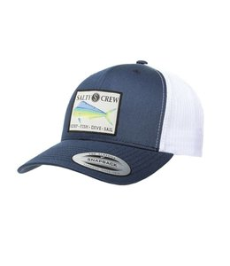 Salty Crew Mahi Navy Retro Trucker
