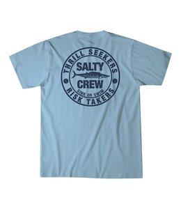 Salty Crew Ono Powder Blue Tee