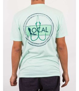 The Local Brand Florida Fishing Mint Short Sleeve Tee