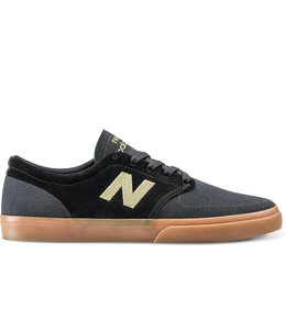 New Balance Numeric 345 Black with Yellow Cream Shoes