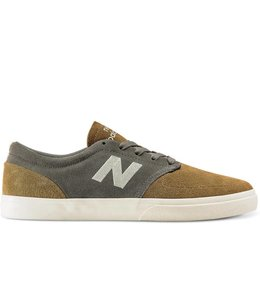 New Balance Numeric 345 Gunmetal with Sepia Shoes