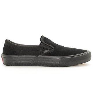 Vans Classic Slip-On Pro Black Mono Skate Shoes