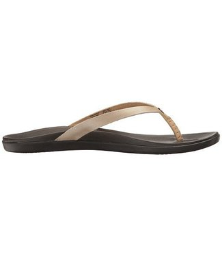 Olukai Ho'Opio Leather Bubbly Sandals