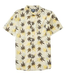 Billabong Mull Leaf Short Sleeve Woven Shirt