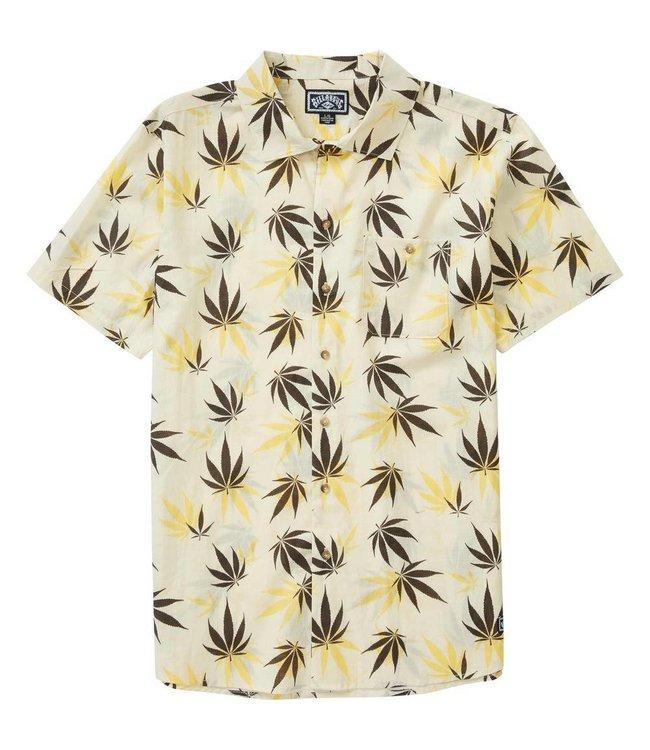 Billabong Mull Leaf Short Sleeve Woven Shirt