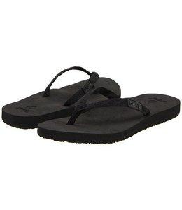 Reef Ginger Black Sandals
