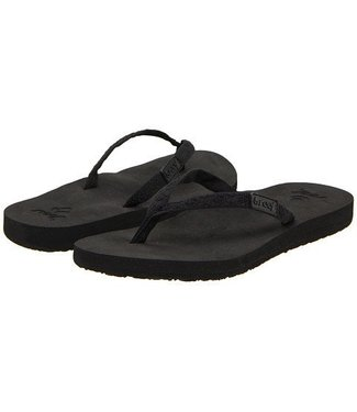 Reef Ginger Black Sandals