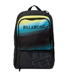 Billabong Juggernaught Black with Lime Backpack