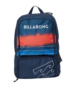 Billabong Juggernaught Navy with Red Backpack