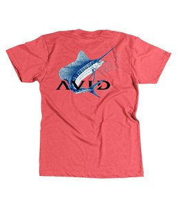 Avid Full Sail Heather Red Tee