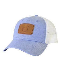 Avid Lay Day Blue Chambray Trucker Hat