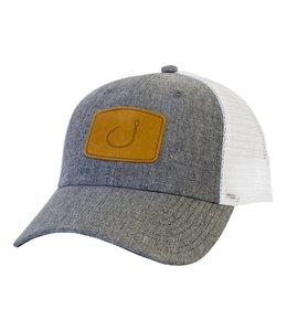 Avid Lay Day Grey Chambray Trucker Hat