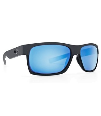 Costa Del Mar Half Moon OCEARCH Matte Black 580G Blue Mirror Lens Sunglasses