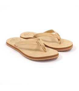 Reef Chill Leather Tan Sandals
