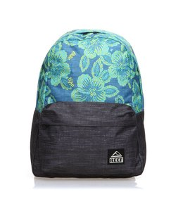 Reef Moving On Blue Floral Backpack