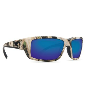 Costa Del Mar Fantail Mossy Oak Shadow Camo 400G Blue Mirror Lens Sunglasses