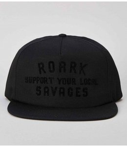 Roark Revival SYLS Patch Snapback Black Cap