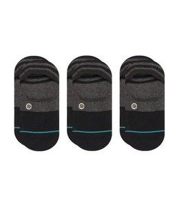 Stance Gamut Black 3 Pack Invisible Socks