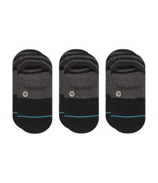 Stance Gamut Black 3 Pack Invisible Socks