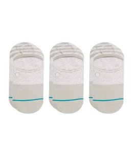 Stance Gamut Grey 3 Pack Invisible Socks