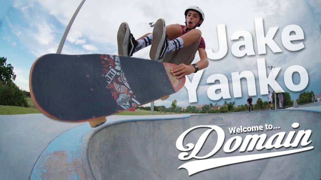 Team Rider Jake Yanko / Welcome to Domain