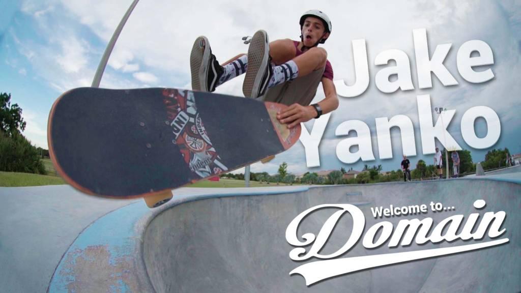 Team Rider Jake Yanko / Welcome to Domain