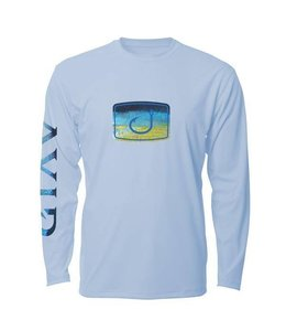 Avid Tuna Fish Fill Ice Blue Long Sleeve AVIDry (50+ UPF)