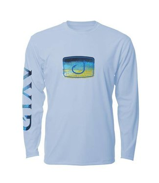 Avid Tuna Fish Fill Ice Blue AVIDry Long Sleeve
