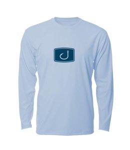 Avid Iconic Ice Blue Long Sleeve AVIDry Performance Shirt
