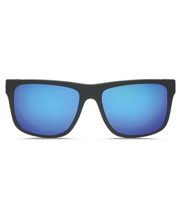 Electric Swingarm XL Matte Black Ohm Grey Blue Chrome Lens Sunglasses