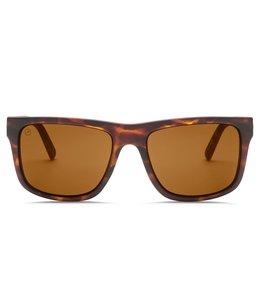 Electric Swingarm XL Matte Tortoise Ohm Polar Bronze Lens Sunglasses