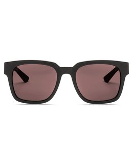 Electric Zombie S-Line Matte Black Ohm+ Rose Lens Sunglasses