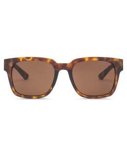 Electric Zombie S Matte Tortoise Ohm Bronze Lens Sunglasses