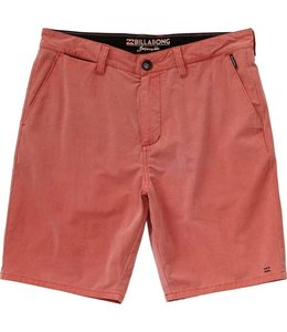 Billabong New Order X Overdye Red Rock Submersible Shorts