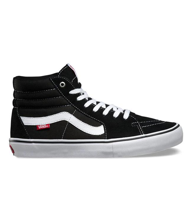 Vans SK8-Hi Pro Black with White Skate Shoes