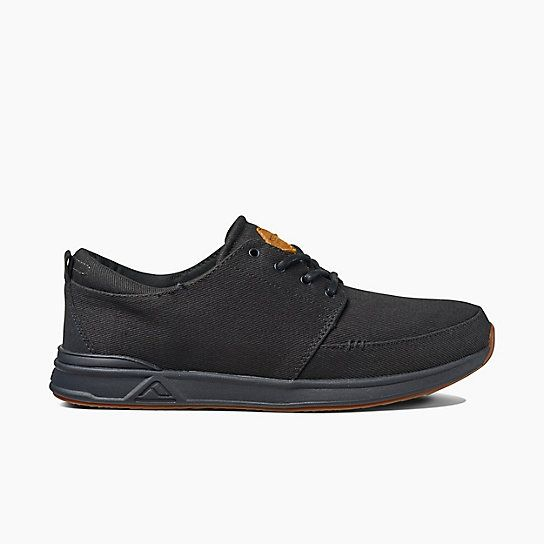 Reef Rover Low All Black Shoes Drift House Surf Shop