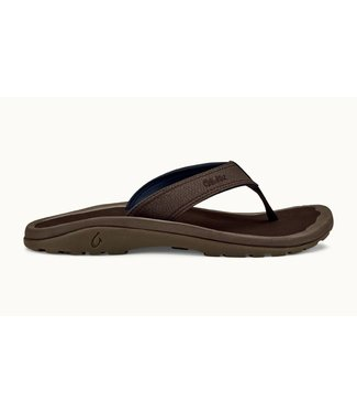 Olukai Men's Ohana Dark Wood Sandal