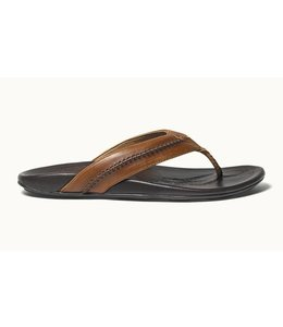 Olukai Mea Ola Tan Dark Java Sandals