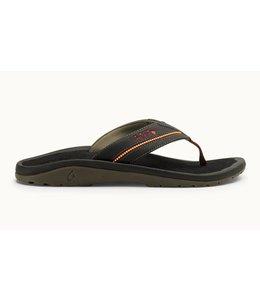 Olukai Kia'i II Black Sandals
