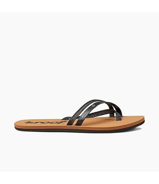 Reef O'Contrare LX Black Sandals