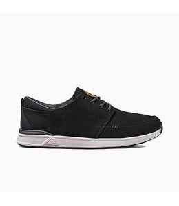 Reef Rover Low Black with White Shoes