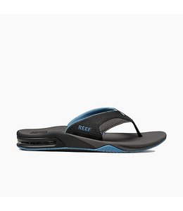 Reef Fanning Grey and Light Blue Sandals