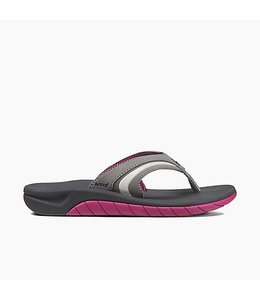 Reef Slap 3 Charcoal with Plum Sandals