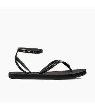 Reef Stargazer Wrap Black Sandals