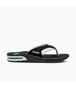 Reef Fanning Black with Mint Sandals
