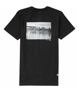 Billabong Gallery Tatsuo Offshore Black Short Sleeve Tee